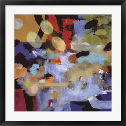 Framed Aerial Abstract II Print