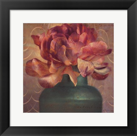 Framed Floral Study III Print