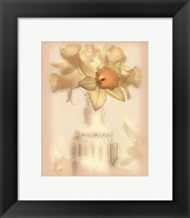 Framed Lovely Daffodil Print