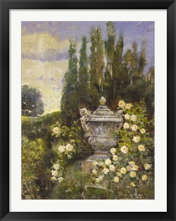 Framed Yellow Roses Print