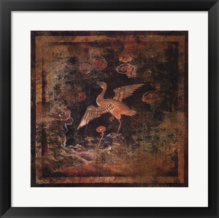Framed Bird Of Paradise II Print