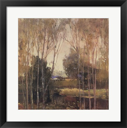 Framed Autumn Scene II Print