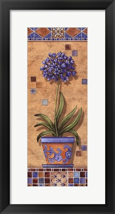 Framed Flower In Greece III - Mini Print