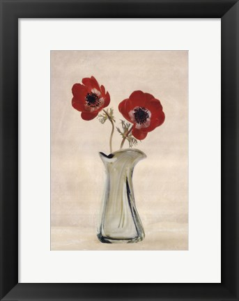 Framed Two Anemones - Special Print