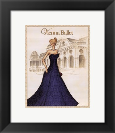 Framed Ballet - Mini Print