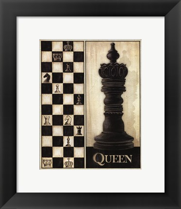 Framed Classic Queen - Mini Print