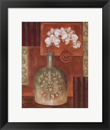 Framed Orchid I - Mini Print