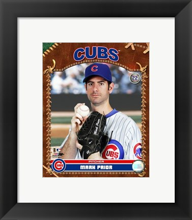 Framed Mark Prior - 2007 Studio Plus Print
