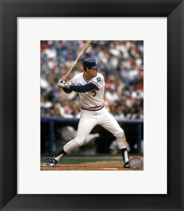 Framed Dale Murphy - 1985 Action Print