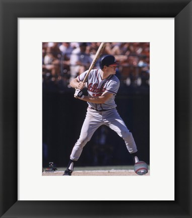 Framed Dale Murphy - 1987 Action Print