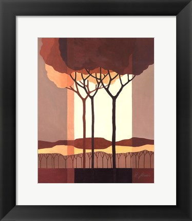 Framed Transformation Tree II Print