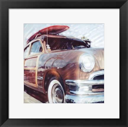 Framed Classic Woody Print