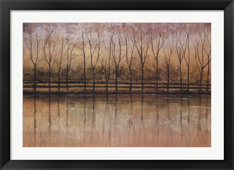 Framed Reflective Waters Print