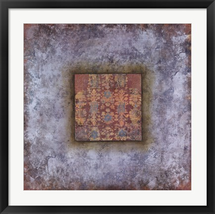Framed Cool Patterns II Print