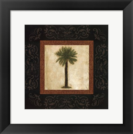 Framed Sago Palm Print