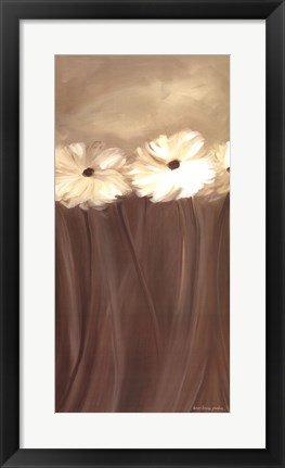 Framed Daisy Bouquet Print