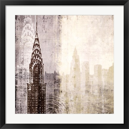 Framed Edifice I Print