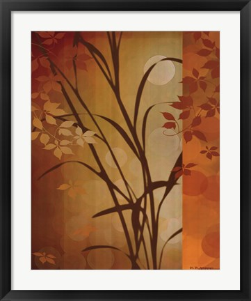 Framed Autumn Sunset I Print