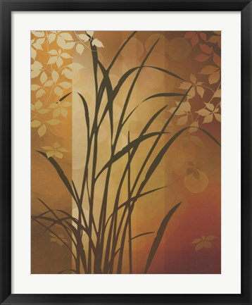 Framed Autumn Sunset II Print