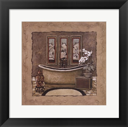 Framed Asian Warmth II Print