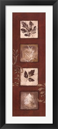 Framed Touches of Autumn I Print