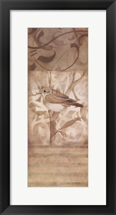 Framed Song Bird II Print