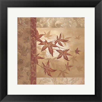 Framed Japanese Maple I Print
