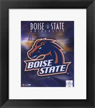 Boise State University Logo Poster by Unknown at FramedArt