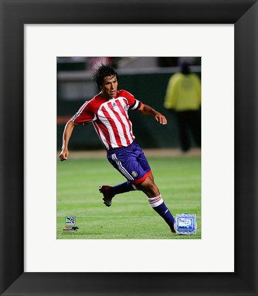 Framed Claudio Suarez - 2007 Action #20 Print