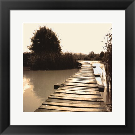 Framed Bridging the Gap Print