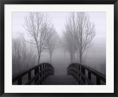 Framed Bridge Over Troubled Waters Print