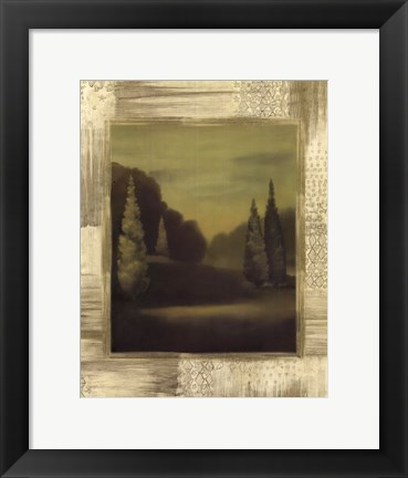Framed Forest Solitude Print
