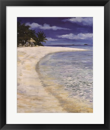 Framed Tropical Hideaway Print
