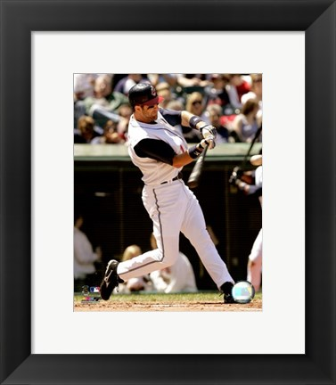 Framed Casey Blake - 2007 Batting Action Print