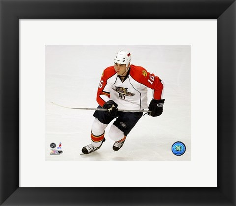 Framed Nathan Horton - '07 / '08 Away Action Print