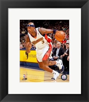 Framed Al Harrington - 2007 Action Print