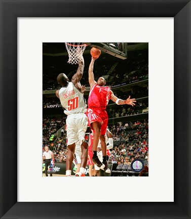 Framed Tracy McGrady - 2007 basket ball Print