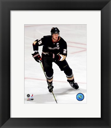 Framed Chris Pronger - 2007 Home Action Print