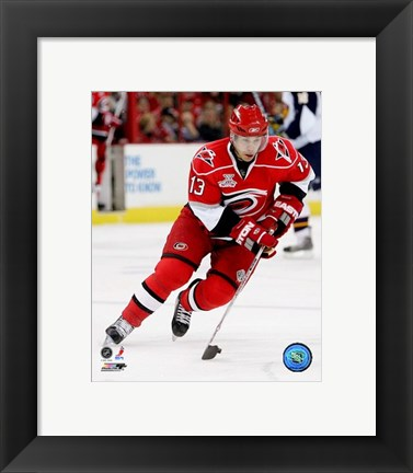 Framed Ray Whitney 2007-08 Action Print