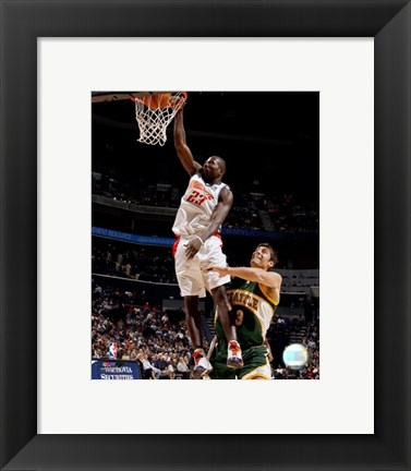 Framed Jason Richardson 2007-08 Action Print