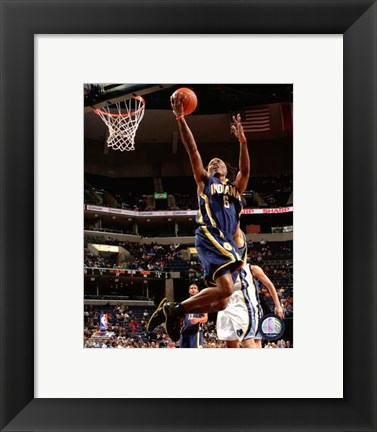Framed Marquis Daniels 2007-08 Action Print