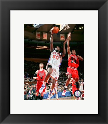 Framed Zach Randolph 2007-08 Action Print