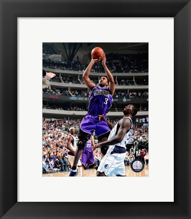 Framed Shareef Abdur-Rahim 2007-08 Action Print