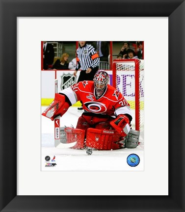 Framed Cam Ward 2007-08 Action Print