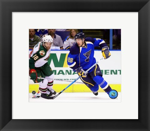 Framed Brad Boyes 2007-08 Action Print