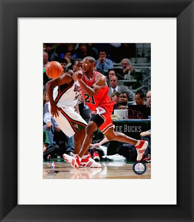 Framed Chris Duhon 2007-08 Action Print