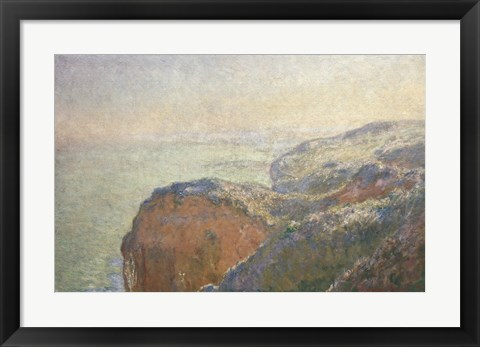 Framed On the Cliffs, Dieppe Print
