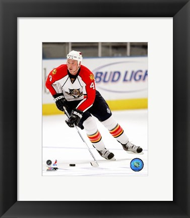 Framed Jason Bouwmeester 2007-08 Action Print