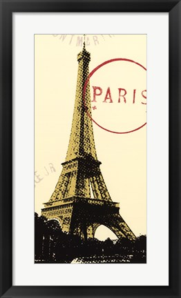Framed Graphic Paris Neutral Print