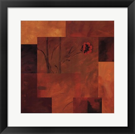 Framed Goa Poppy II Print